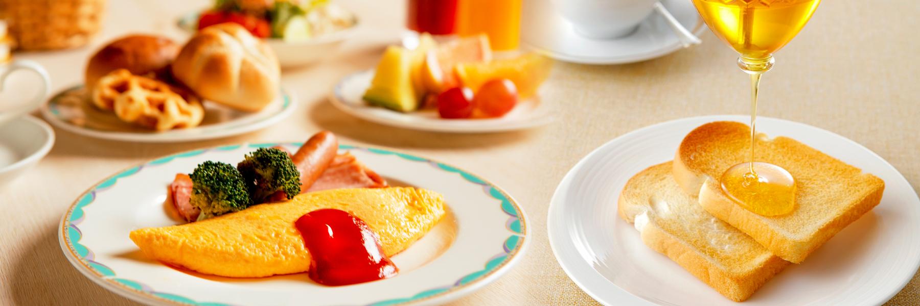 朝食ブッフェ「海老名の朝食」|【公式】レンブラントホテル海老名