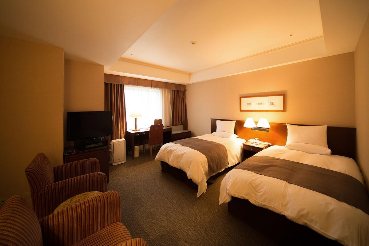 デラックスツインルーム|客室のご案内|レンブラントホテル海老名【公式】レンブラントグループホテル