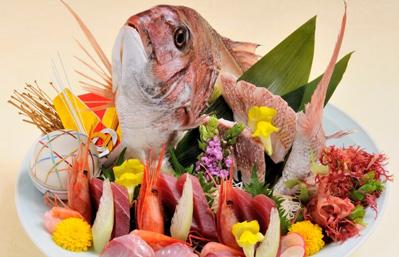 オプション:鯛姿造り|お祝い・会席|レンブラントホテル海老名【公式】レンブラントグループホテル