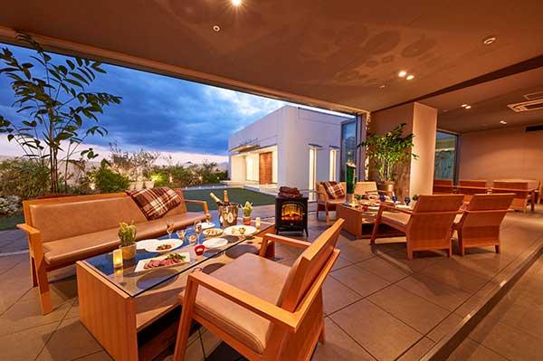 SKY TERRACE ~新生活様式を取り入れガーデンと一体化したパーティー会場|ご宴会場|レンブラントホテル東京町田【公式】