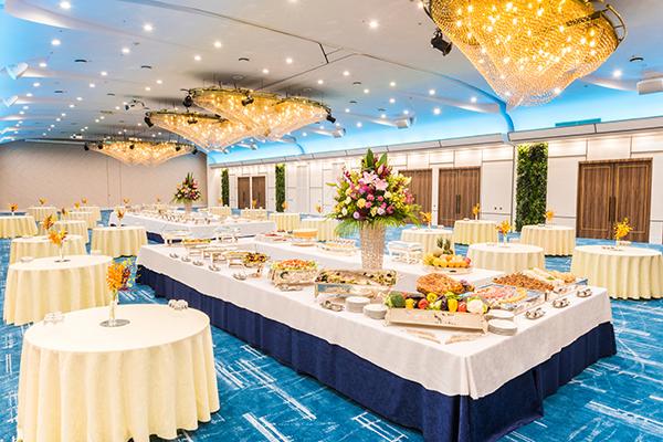 大宴会場 珊瑚の間|ご宴会場|レンブラントホテル東京町田【公式】