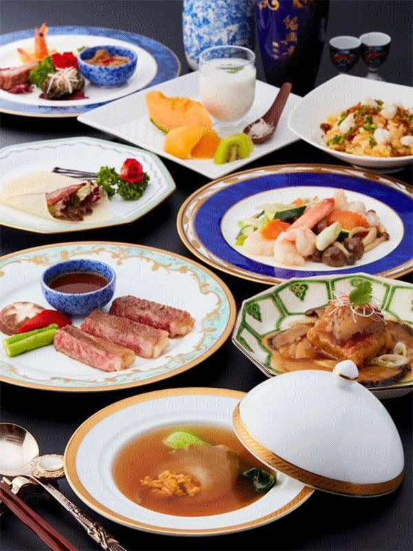 皇コース|中国料理 龍皇(ロンファン)|レンブラントホテル東京町田【公式】