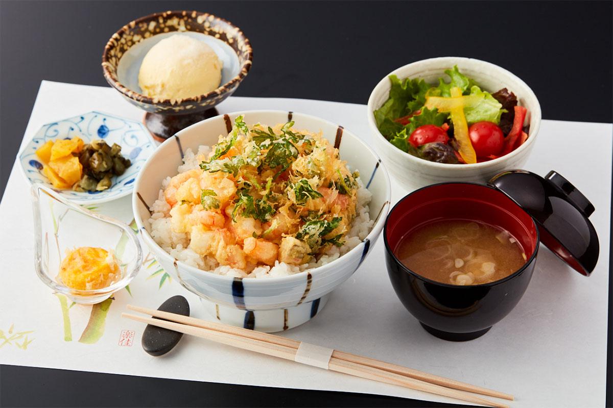海鮮かき揚げ丼|ランチ|レンブラントホテル東京町田【公式】