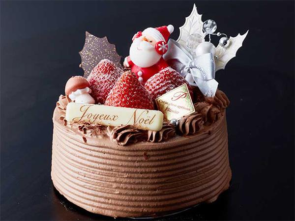 クリスマスチョコケーキ4号