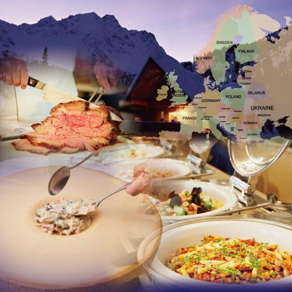 [Go To キャンペーンで最大45%もお得です!]町田にいながらグルメの旅「ヨーロッパグルメ紀行」ランチバイキング|PALMTREE(パームツリー)|レンブラントホテル東京町田【公式】
