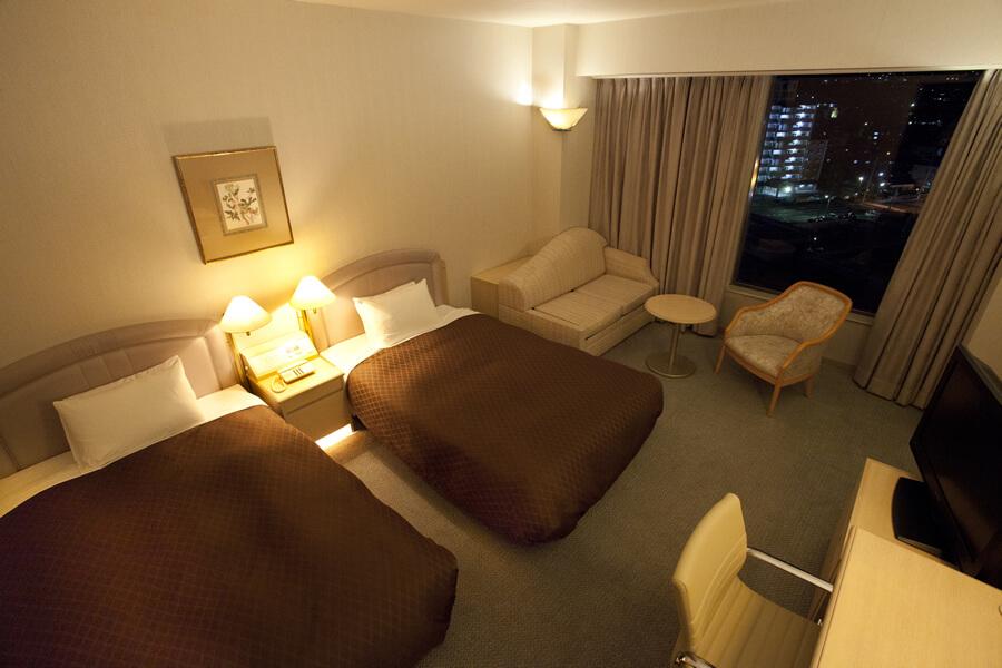 デラックスツイン|ツインルーム|レンブラントホテル大分【公式】レンブラントグループホテル