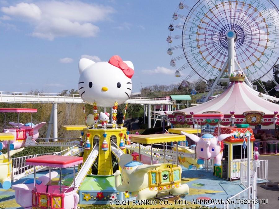サンリオキャラクターパーク「ハーモニーランド」|周辺観光|レンブラントホテル大分【公式】レンブラントグループホテル