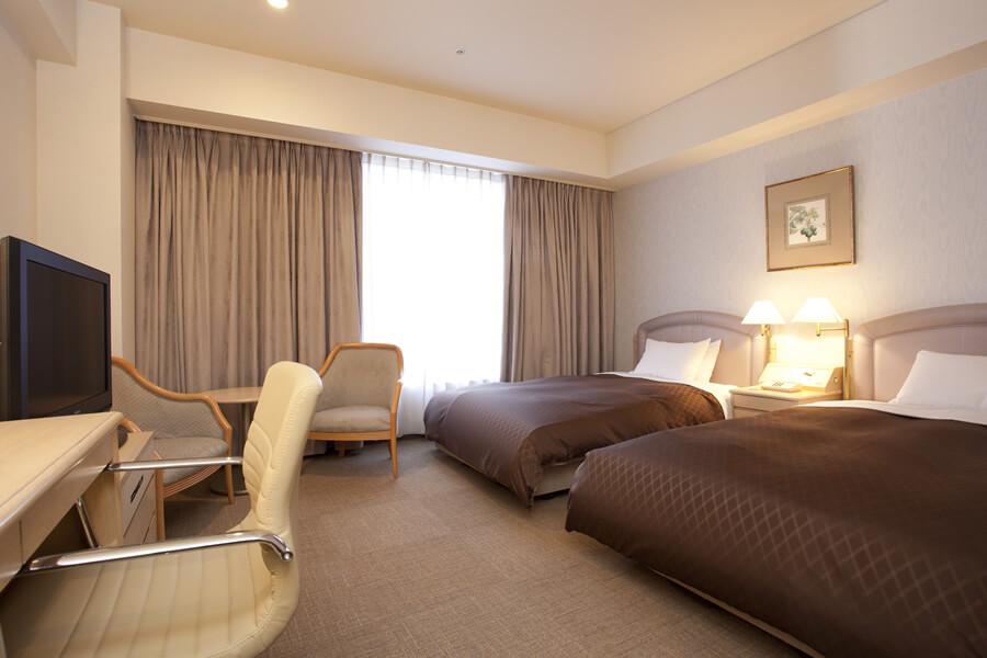 ツインルーム|レンブラントホテル大分【公式】レンブラントグループホテル