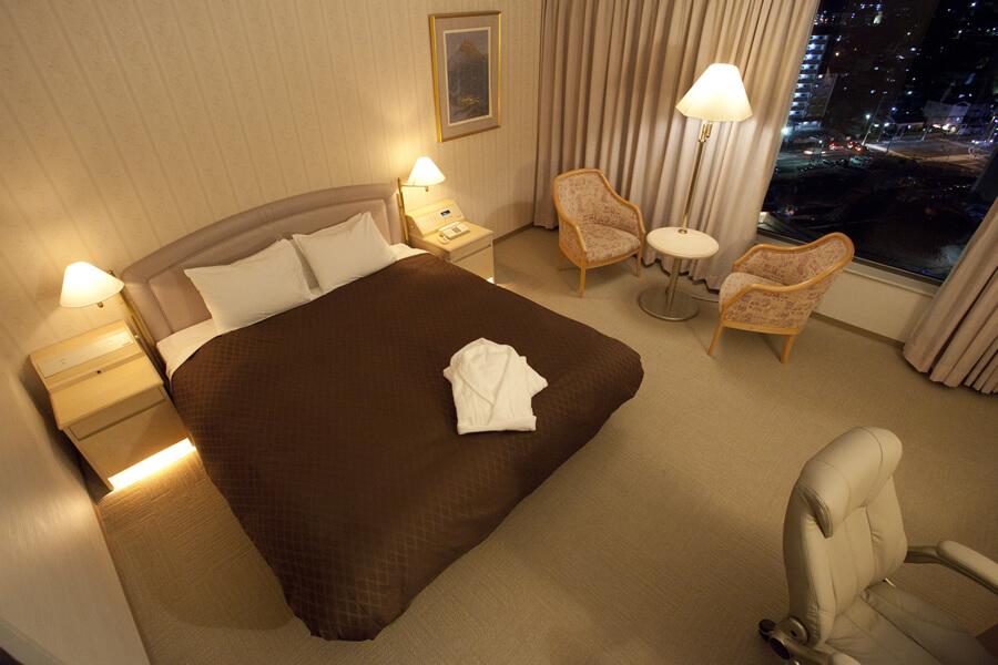 スーペリアキングダブル|ダブルルーム|レンブラントホテル大分【公式】レンブラントグループホテル
