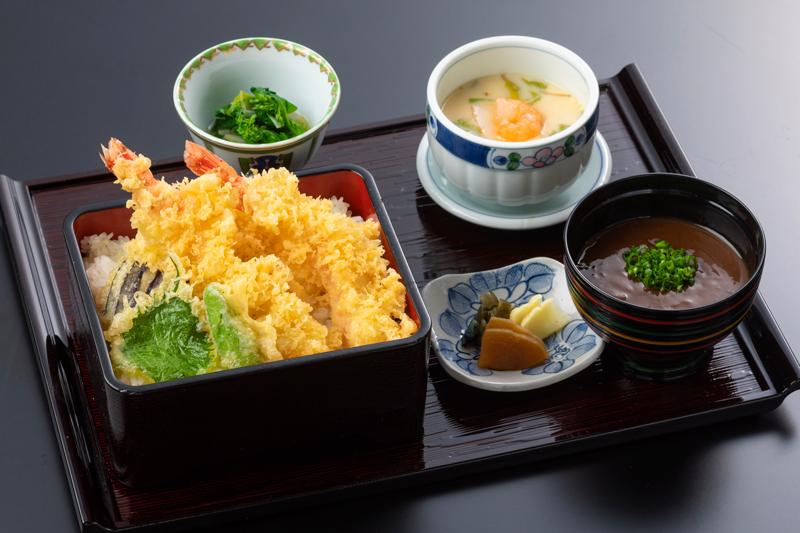天重セット|日本料理 中津川