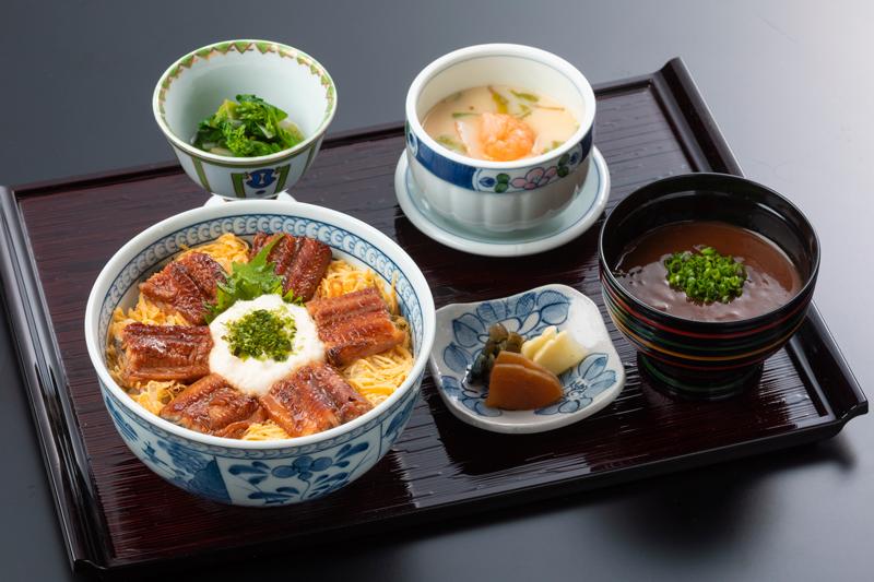 うなとろ丼セット|日本料理 中津川