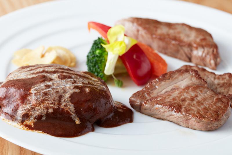 ランチ限定|鉄板焼 肉三昧セット|日本料理 中津川|レンブラントホテル厚木【公式】レンブラントグループホテル