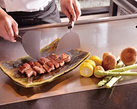 鉄板焼ディナーコース|日本料理 中津川|レンブラントホテル厚木【公式】レンブラントグループホテル