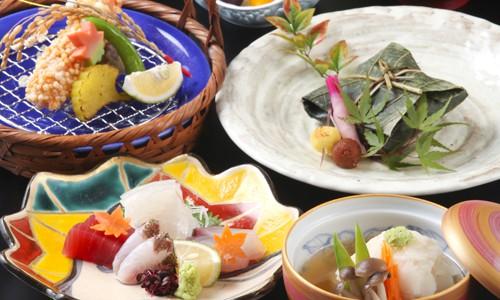 涼風会席<br>~リーズナブルに味わう季節のお料理~ 平日特別価格4,100円|ディナー|レンブラントホテル大分【公式】レンブラントグループホテル