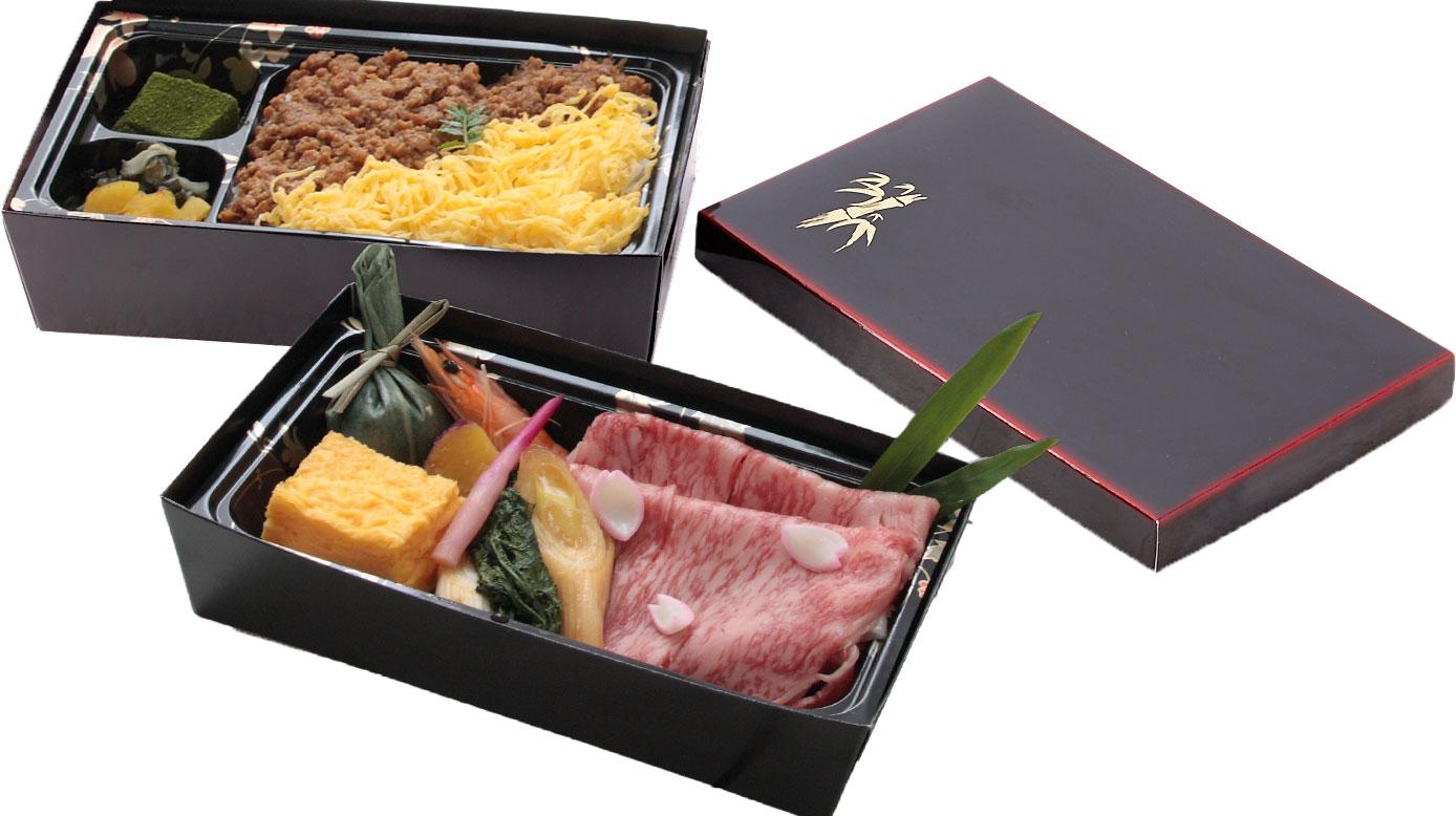 【商品番号-T】</br>鹿児島県産黒牛のすき焼き弁当|テイクアウト|レンブラントホテル東京町田【公式】