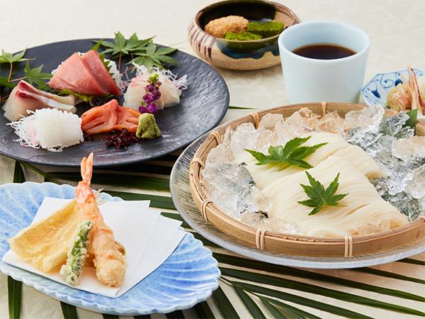 天ぷらお造りそうめん御膳|ランチ|レンブラントホテル東京町田【公式】