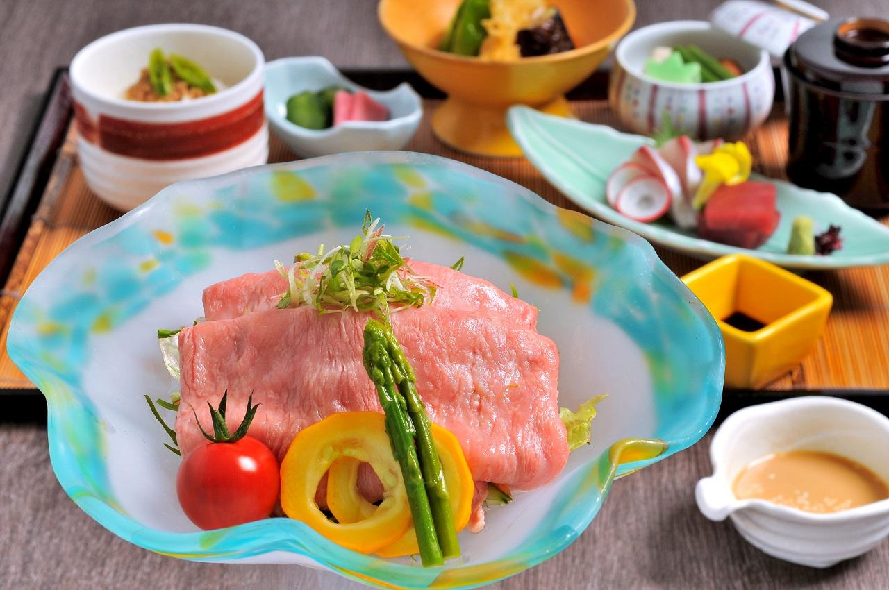 米沢牛冷しゃぶ御膳 季節のおすすめ ランチ レンブラントホテル海老名【公式】レンブラントグループホテル
