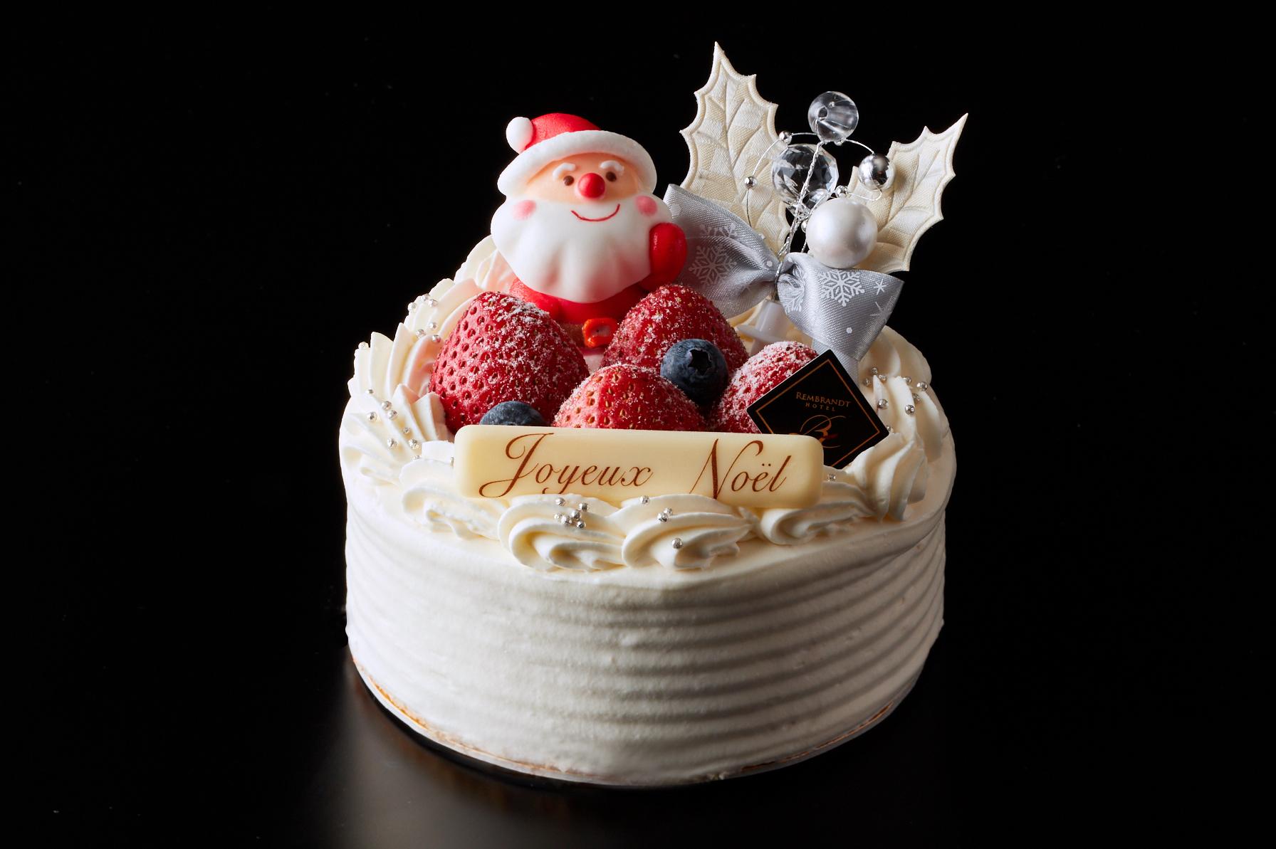 クリスマス生ショートケーキ4号