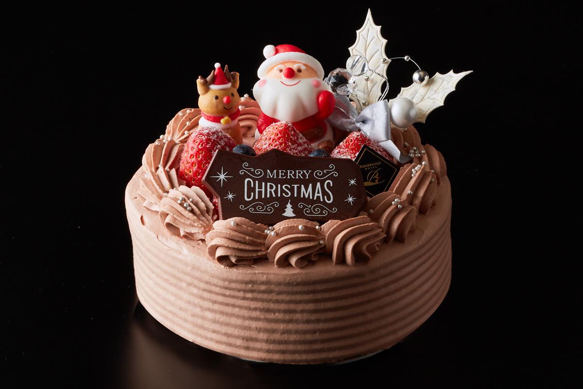 クリスマス生ショコラケーキ5号|ケーキ・スイーツ|レンブラントホテル厚木【公式】レンブラントグループホテル