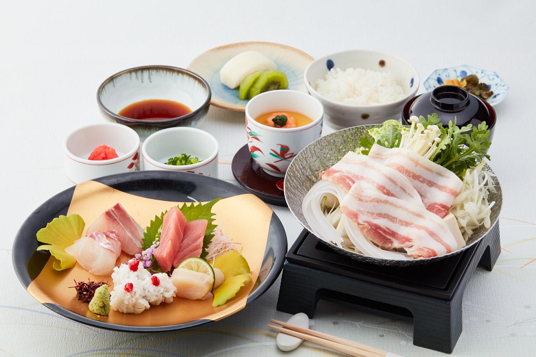 【10月1日より販売開始】豚しゃぶお造り膳 ランチ レンブラントホテル東京町田【公式】
