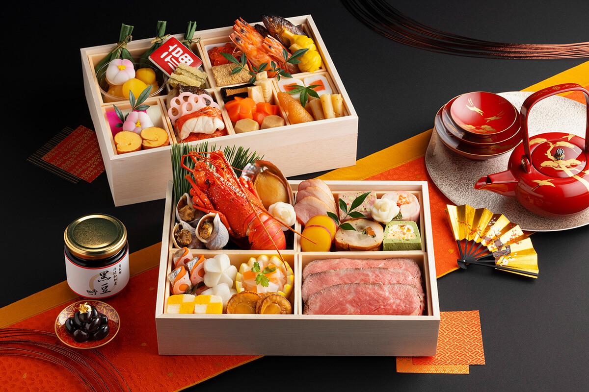 日本料理「四季」特選おせち二段重|9/16(木)ご予約開始