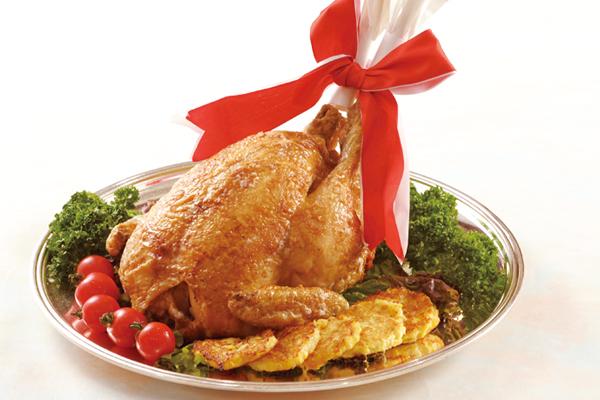 【ローストチキン】丸ごとロースト!ジューシーな味わい。|クリスマス商品|レンブラントホテル大分【公式】レンブラントグループホテル