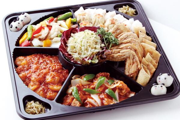 【中国料理パーティーセット】本格中国料理の盛り合わせ|クリスマス商品|レンブラントホテル大分【公式】レンブラントグループホテル
