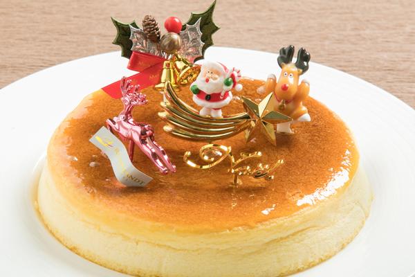 【クリスマススフレフロマージュ】チーズの風味となめらかな食感|クリスマス商品|レンブラントホテル大分【公式】レンブラントグループホテル