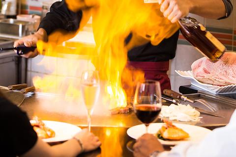 鉄板焼 山茶花|レンブラントホテル大分