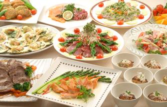西洋料理パーティープラン|レンブラントホテル大分