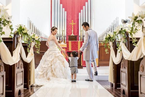 【おめでた婚&パパママ婚】お子様も一緒に参加OK!