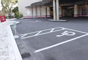 ご宿泊のお客様専用駐車場のご案内