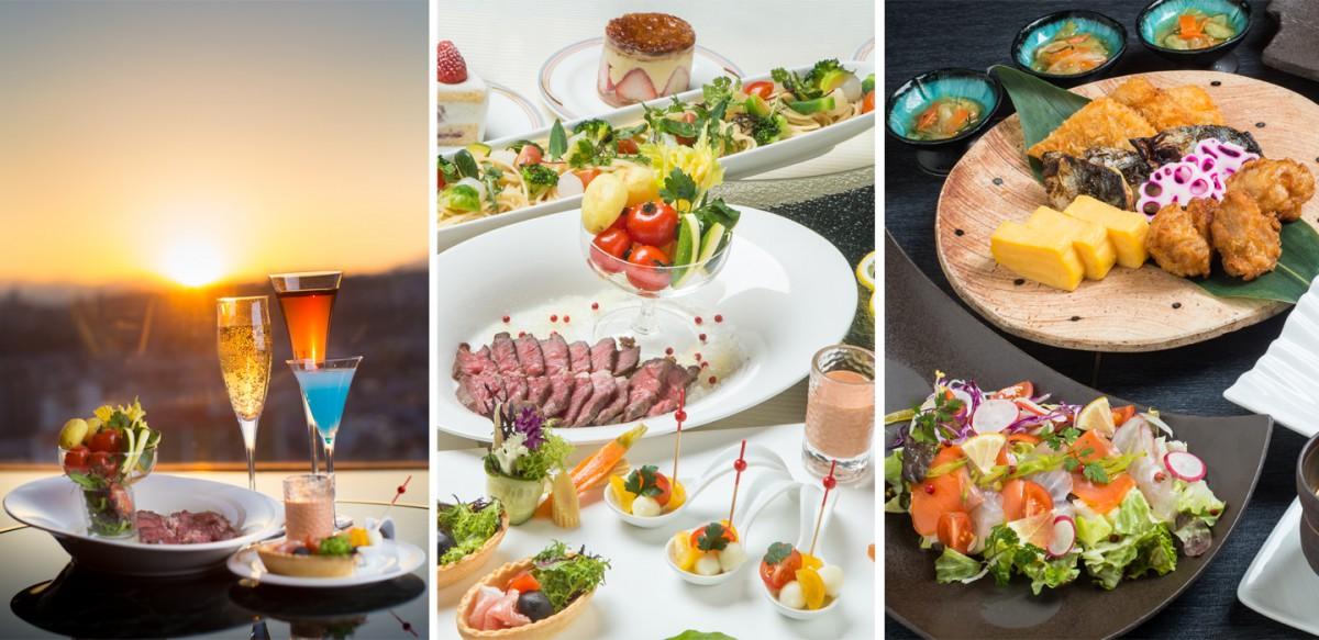 バーレンブラント パーティープラン<br />~シェフ特製料理&本格カクテル飲み放題!~<br />和食も選べるようになりました!