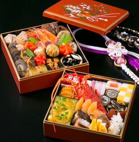 日本料理 中津川謹製 和食おせち二段重