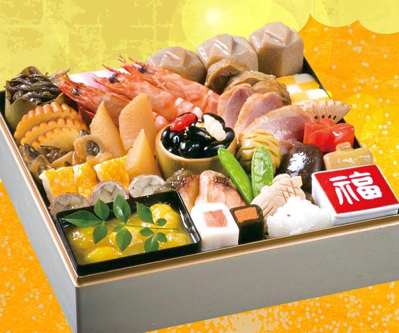 日本料理 中津川特製 和食おせち一段重