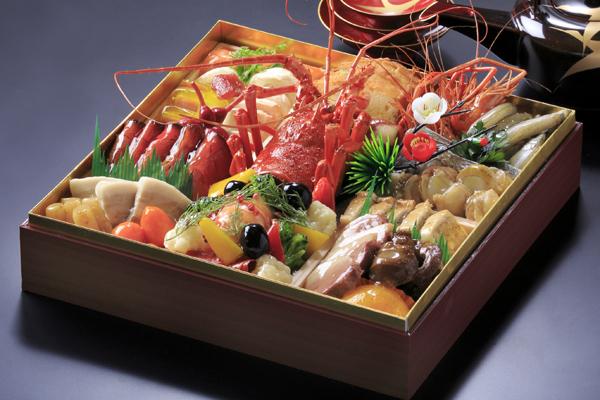 【洋食 新年を寿ぎ、華やかに】:洋食一段おせち