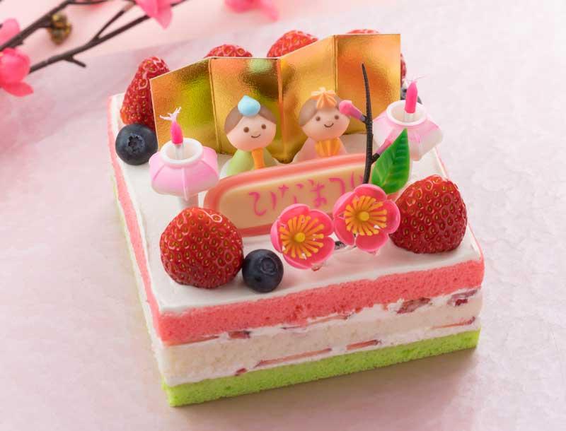 【2/28~3/3】ひなまつりケーキ販売【パームツリー】