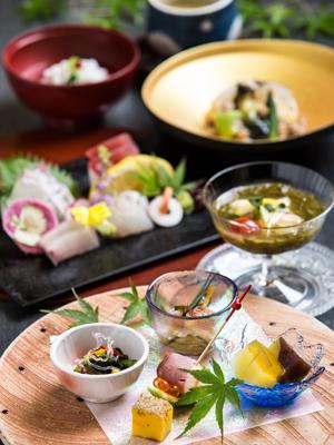 上質な旬を味わう、四季懐石<br />【料理長おまかせ季節の懐石~松風~】