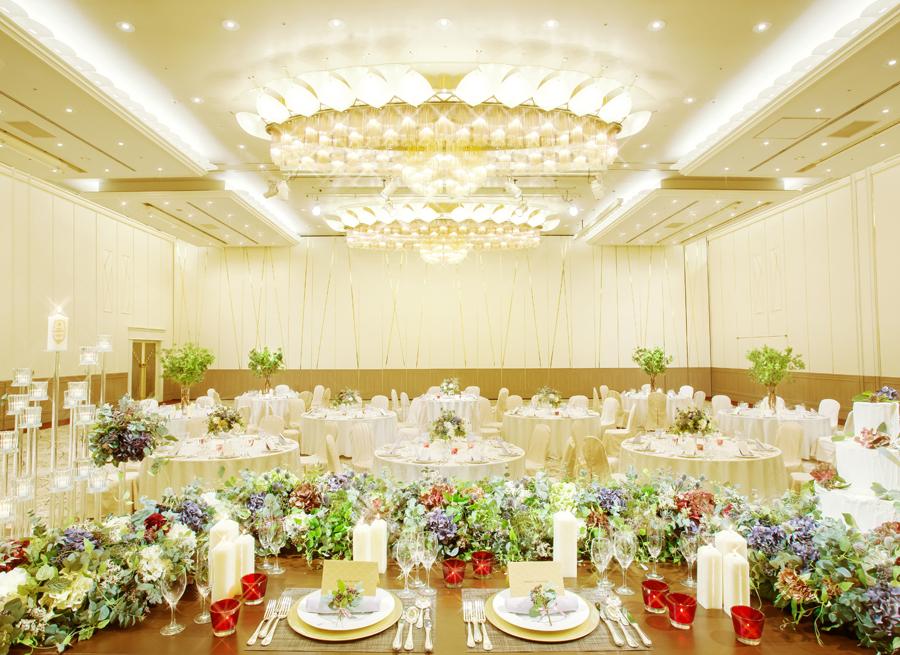 大宴会場「二豊の間」|レンブラントホテル大分