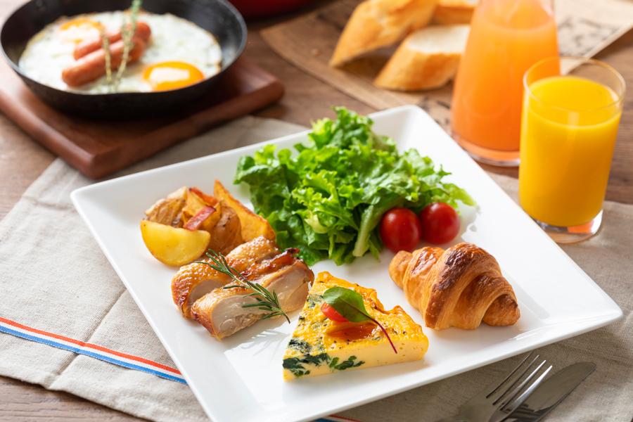 カフェダイニング「パームツリー」朝食のご案内