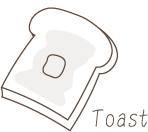 感動のトースト体験!