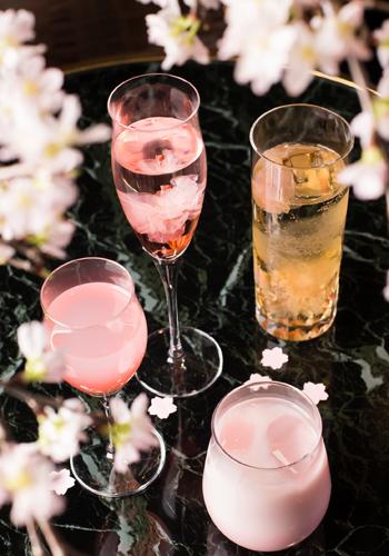 春のカクテルフェア<br />【桜カクテルフェア】<br />桜リキュール使用。バーで桜見気分を・・・