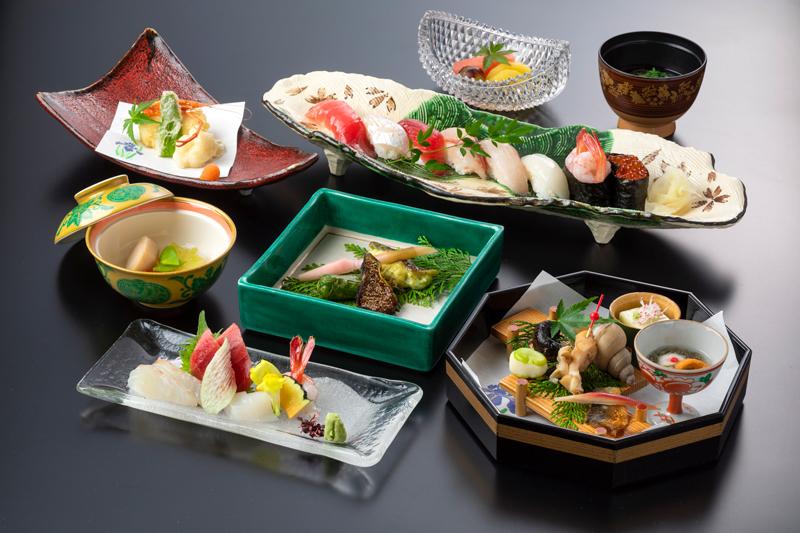 期間限定|中津川の寿司会席