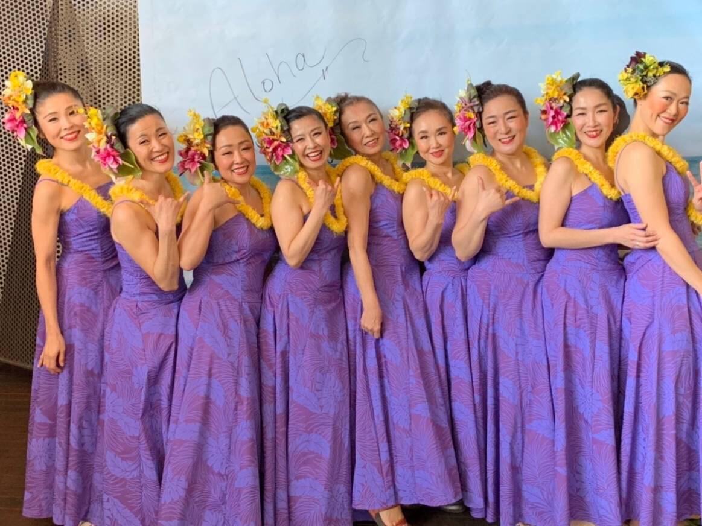 ハワイアン気分♪フラダンスショー