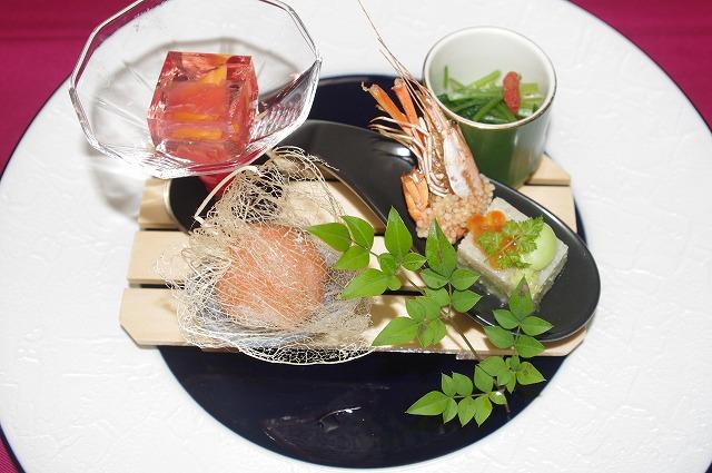 【ディナー】季節の夜会席(月替り) 8月 秋風の月メニュー