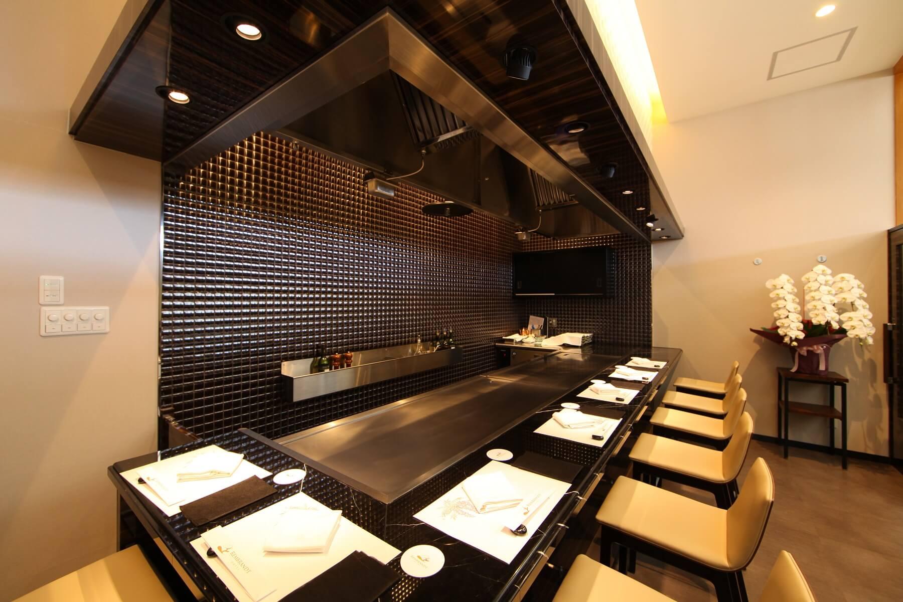 日本料理&鉄板焼 しらがね|レンブラントホテル鹿児島