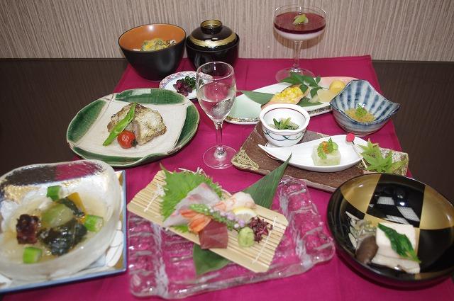 【ランチ】季節の昼会席(月替り)8月 秋風の月のメニュー