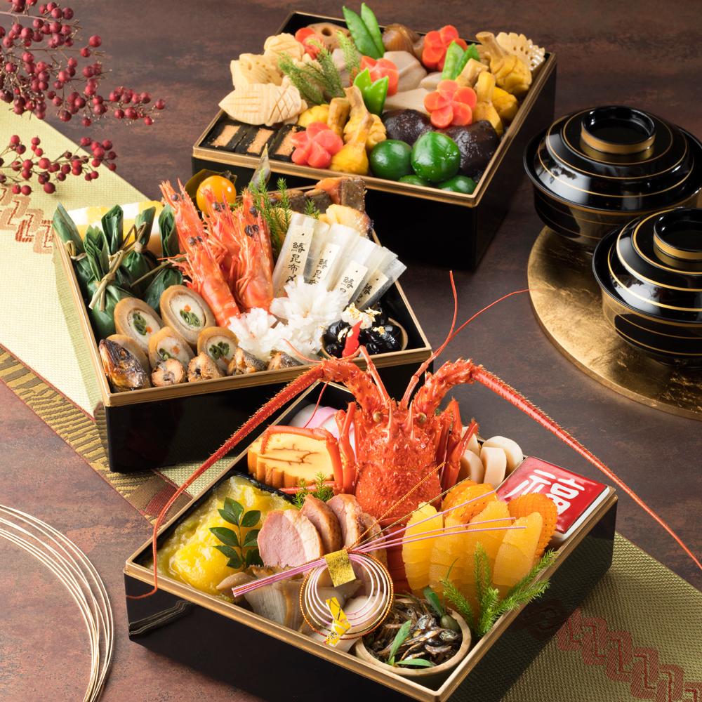 日本料理 中津川謹製 和食おせち三段重