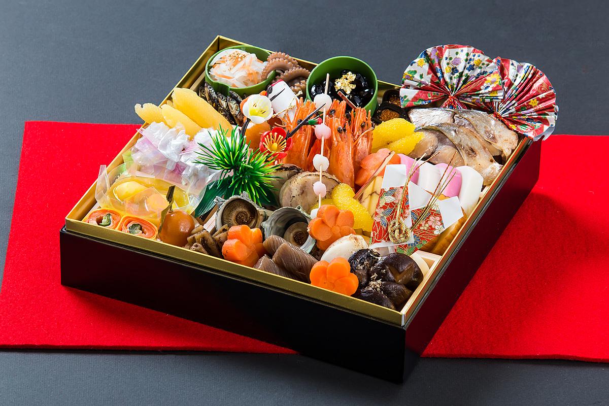 【和食 新春にふさわしい逸品】:和食一段おせち