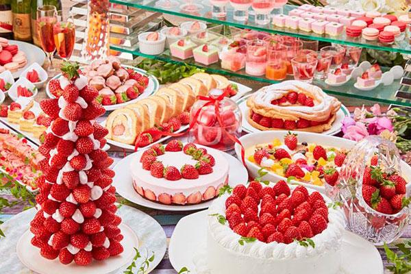 Berry Happy Wednesday!フレッシュ苺食べ放題!!苺スイーツバイキング